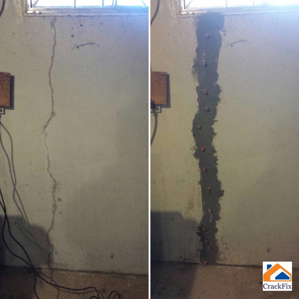 Foundation crack repair in Edmonton and area