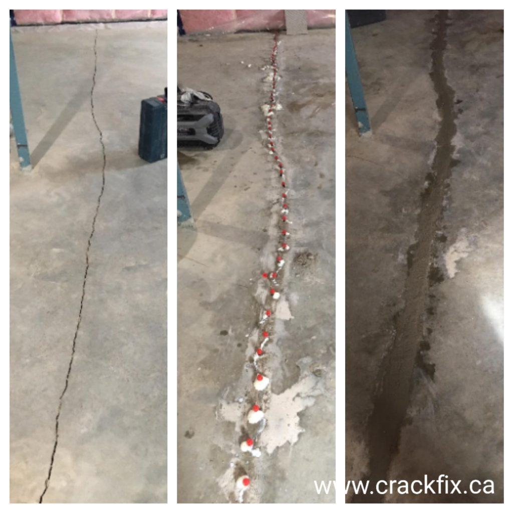 water leak in the basement