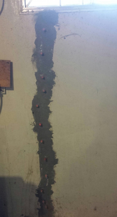 Foundation crack repair